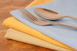 dinner napkins poster
