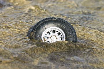 pneu échoué 2