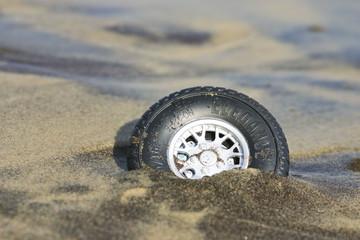 pneu échoué 3