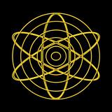 Atom Teilchen poster