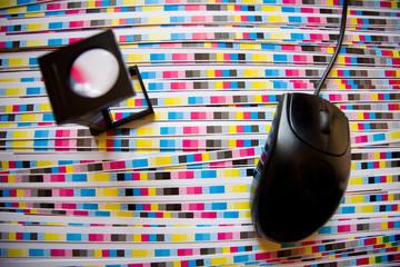 Prepress color menagement and print production