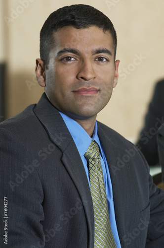 Portrait of mid adult business man
