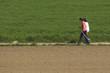Walking durch die Felder