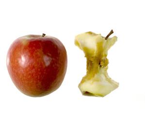 mela e torsolo