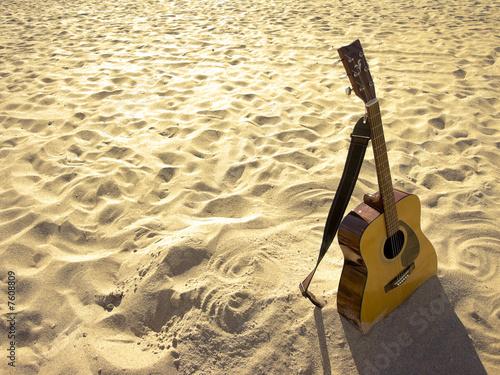 Sunny Beach Acoustic Guitar - 7608809
