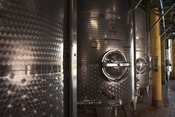 Steel Wine Vats