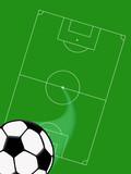 campo da calcio poster