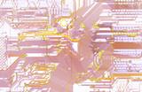 maze - town scheme poster