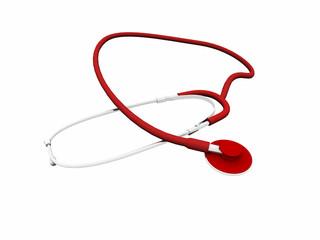 Stetoscopio rosso