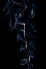 Colored smoke wisps .abstract background