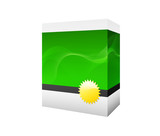 green software box poster