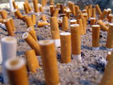Zigarettenpause