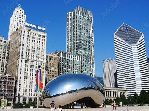 Leinwandbild Motiv Chicago