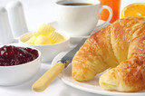 Fototapety Croissant Breakfast