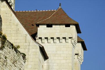 eglise fortifiée de la roche posay