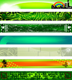 Website banners. 730x90 sizes. poster