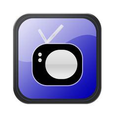 blue button - tv