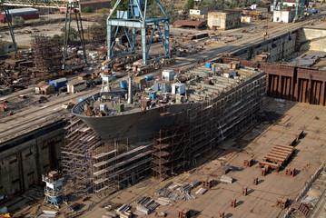 Shipbuilding. Dok (main sector)