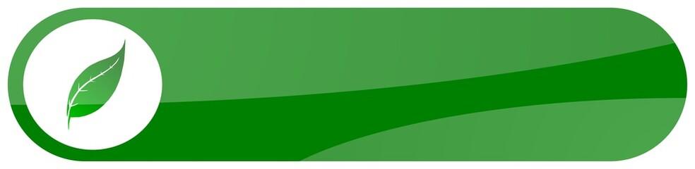 green flora aqua button
