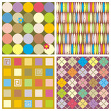 Repeat patterns (seamless backgrounds) poster