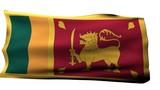 Sri Lanka Flag bg poster