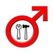 Männer Handwerk verboten