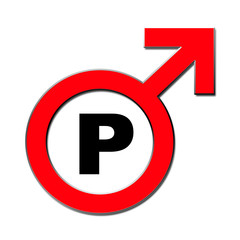 Parken nicht für Männer