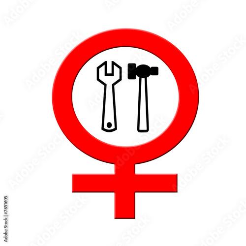 Frauen Handwerk verboten
