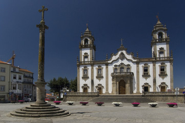 Church of Misericordia in Viseu, Portugal