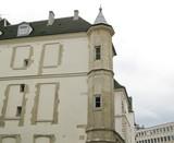 Ancien hôtel particulier, Quartien latin, paris, France. poster