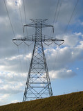 Power Lines Transmission Tower poster