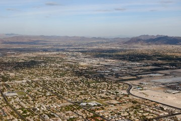 Las Vegas outer residential areas
