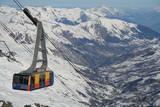 Fototapete Skier - Eimer - Andere