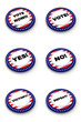 Election button collection