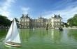 paris, voilier devant le sénat