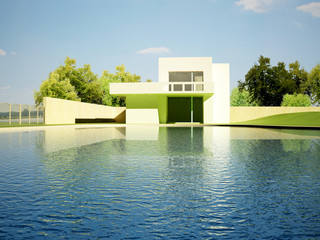 Water pool - Private house