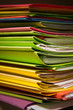 dossier affaire papier archive administratif bureau contrat