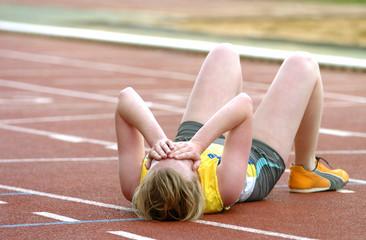 sportive épuisée 2