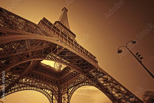 Leinwanddruck Bild Paris