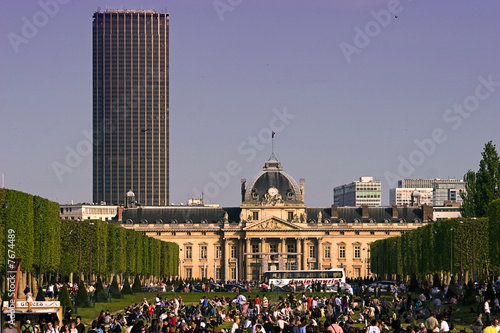 canvas print picture Paris