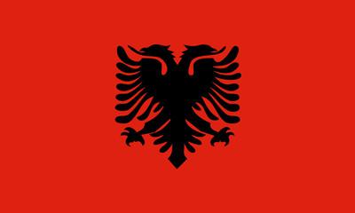albanien fahne albania flag