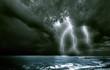 the lighting storm