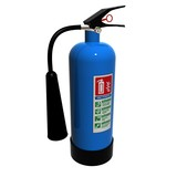 An ABC Powder fire extinguisher poster