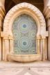 Leinwanddruck Bild - Mosaic and Fountain