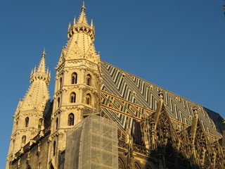 Vienna Cathedral, Stephansplatz, Austria