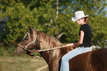 Cowgirl & Western Horse