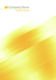 Fototapety Abstract yellow soft background for your prints