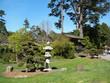 Jardin japonais, pagode, et entrée dans le golden gate park
