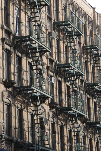 Fire escape stairs - 7706620