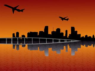 planes departing Miami